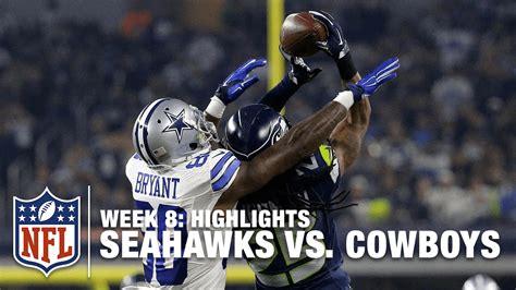 seahawks  cowboys week  highlights nfl youtube