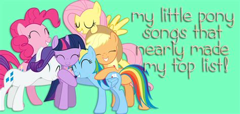 pony songs nearly
