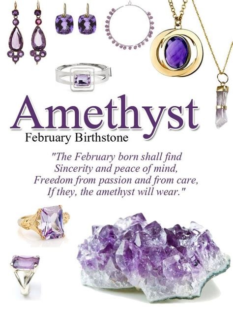 birthstone color for february amethyst birthstone of february color plum violet
