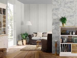 Tapeten Schlafzimmer Grau : tapete rasch fiducia struktur grau wei 425413 ~ Markanthonyermac.com Haus und Dekorationen