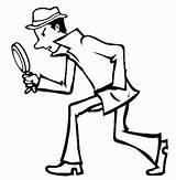 Spy Coloring sketch template