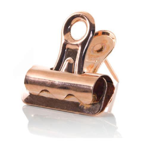 push pin bulldog clips rose gold traditional gifts