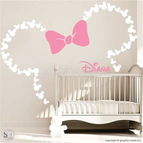 Kinderzimmer Deko Minnie Mouse by Kinderzimmer Bescheiden Minnie Mouse Kinderzimmer 252 Berall
