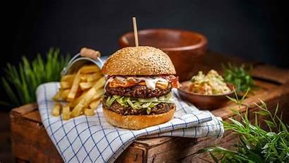 Hamburger Bio Still Creativemarket Ricette Manzo Grafvision