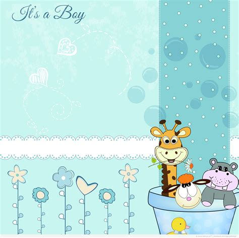boy baby shower wallpaper wallpapersafari