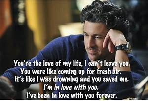 I love you | Er... Mcdreamy Love Quotes