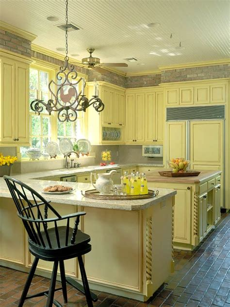 Colorful Cabinets by Colorful Kitchens With Charisma Traditional Home