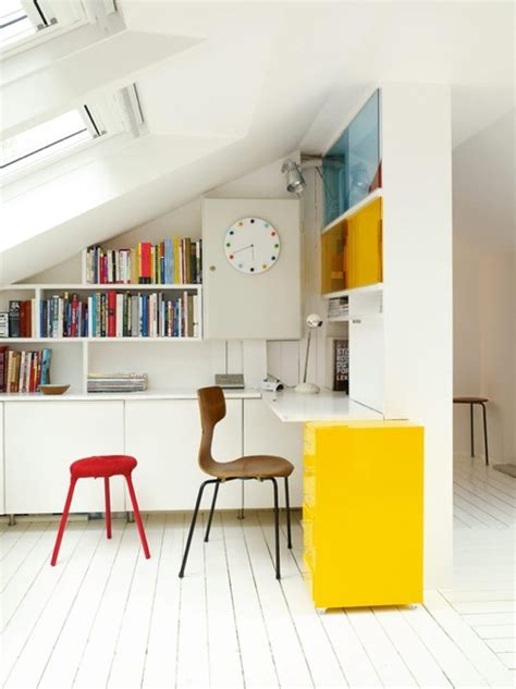 decorating ideas  white rooms  pops  color