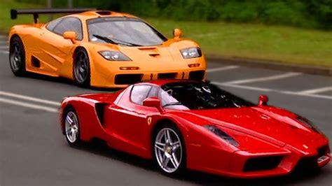 Ferrari Enzo Vs Mclaren F1