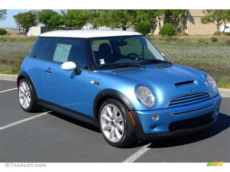 Mini Cooper Blue Edition Picture by Electric Blue Metallic 2003 Mini Cooper S Hardtop Exterior
