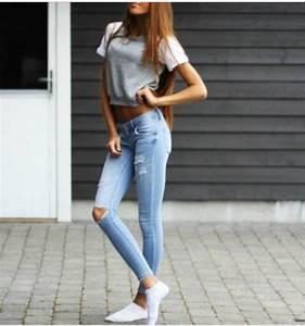 Jeans tumblr tumblr outfit tumblr girl tumblr clothes tumblr shirt casual comfy grey ...
