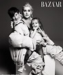 Christina Aguilera poses with her cute kids for Harper's ...
