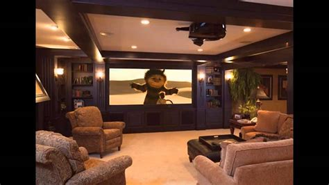 Interior Design For Home Theatre by Basement Home Theater Design And Decorations