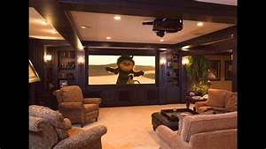 Basement Home Theater Design And Decorations