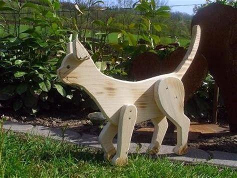 Haus Und Garten Holzwurm Kreatives F 252 R Haus Und Garten Holz Tiere Cats Wooden Garten Cats