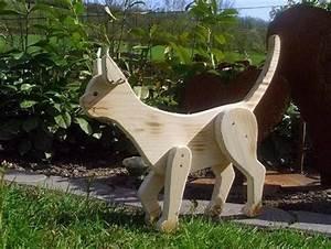 Tiere Aus Holz Basteln : holzwurm kreatives f r haus und garten holz tiere cats wooden ~ Orissabook.com Haus und Dekorationen