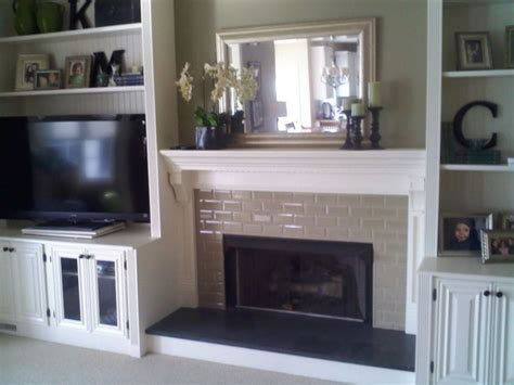 remodel fireplace surround fireplace with built in bookshelves custom trimwork