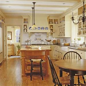 country and home ideas for kitchens afreakatheart With country kitchen designs with island