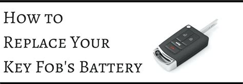 Nissan Altima Key Fob Battery Replacement