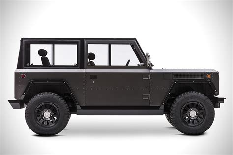 Electric Vehicle Suv by Bollinger B1 All Electric Suv Hiconsumption