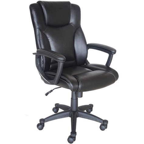 broyhill bonded leather manager chair walmart