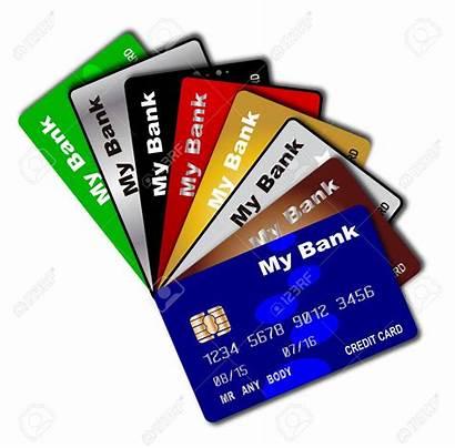 Credit Card Fan Debit Cards Background Sheyenne