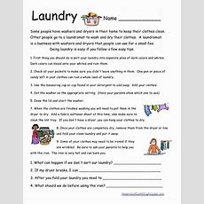 Here Is Another Life Skills Worksheet I Wish All My Students Did Their Own Laundry