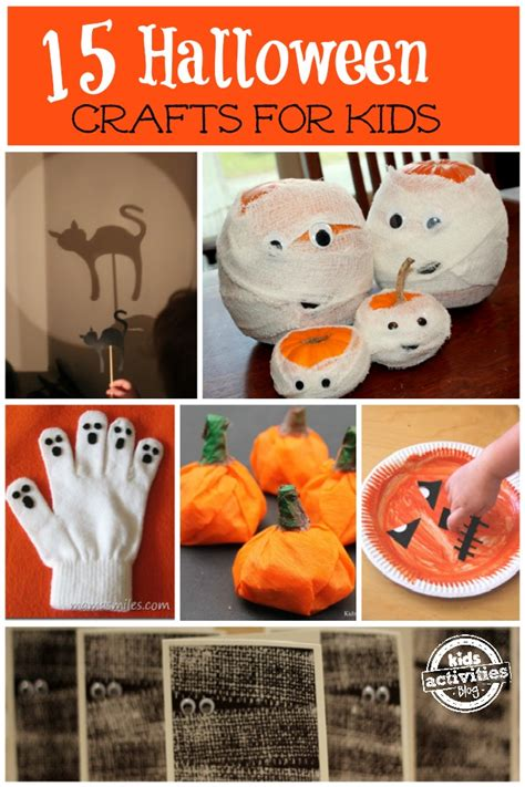 easy crafts for 608 | Halloween crafts for kids