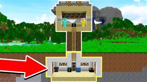 secret underground minecraft tree house base ep  youtube