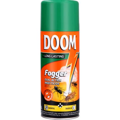 doom fogger dual action insecticide  ml hashmar shoppings