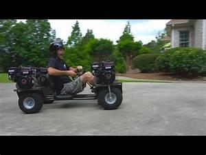 Go Kart Motor Kaufen : awd 4 engine go kart runs rear engines gussets youtube ~ Jslefanu.com Haus und Dekorationen