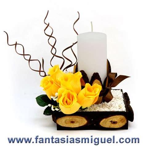 arreglo zen con vela y rosas como hacer manualidades fantasias miguel arreglos florales