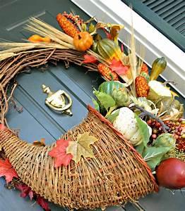 Cornucopia, Fall, Wreath