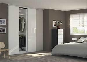 Prix D Une Porte De Chambre : porte de placard coulissante sur mesure ~ Premium-room.com Idées de Décoration