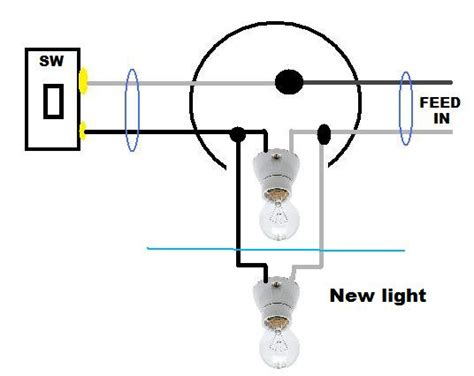 can i add a light to a ceiling fan adding a light switch to an existing circuit wiring diagram