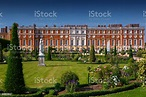 Hampton Court Palace Richmond London England Uk Stock ...