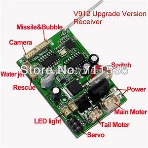 V912 16 New Upgrade Version Receiver Board Mainboard