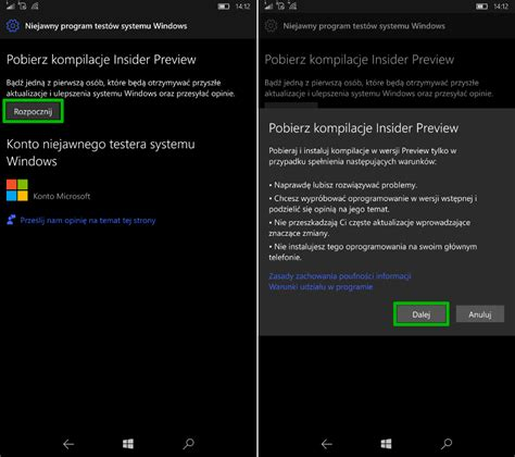 wgraj aktualizację creators update za pomocą windows
