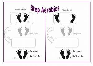 Step Aerobics Task Card By Jellybabies16 Teaching