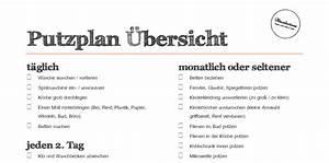 Haushaltsplan Für Teenager : putzplan wochenplan todo liste zum download h welm use ~ Lizthompson.info Haus und Dekorationen