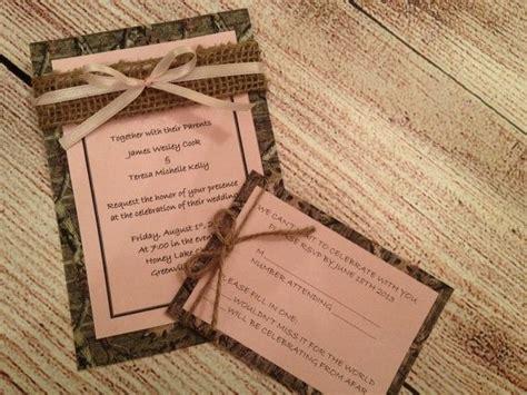 17 Best Ideas About Camo Wedding Invitations On Pinterest
