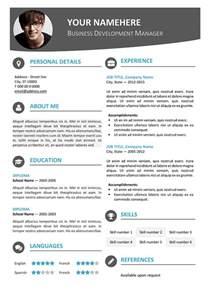 best modern resume templates modern resume template learnhowtoloseweight net