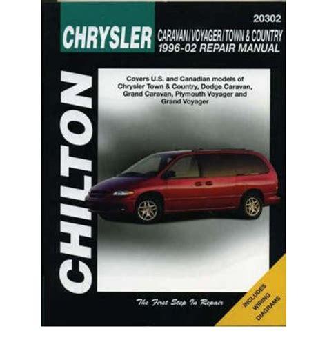 car service manuals pdf 1995 chrysler town country parental controls chrysler caravan voyager town and country repair manual sagin workshop car manuals repair