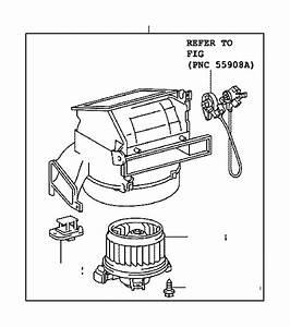 Toyota Yaris Hvac Blower Motor Resistor  Lower   Air