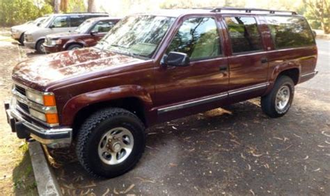auto air conditioning repair 1994 gmc suburban 2500 seat position control find used 1994 suburban 6 5l turbo diesel 4x4 2500 low miles great cond in san francisco