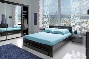 chambre a coucher moderne noir trendymobiliercom With chambres a coucher moderne