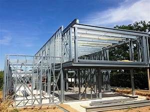 Maison Structure Métallique : constructeur maison ossature metallique ~ Melissatoandfro.com Idées de Décoration