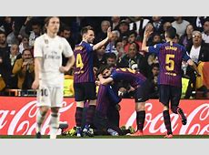 Meiste ClásicoSiege Barça überholt Real Madrid REAL TOTAL