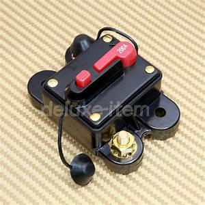 200 Amp 12v Dc Circuit Breaker Replace Fuse 200amp 12v