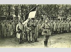 Polish Army, 1919 These troops are wearing blue French